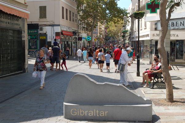 Eingang Nord Main Street Gibraltar