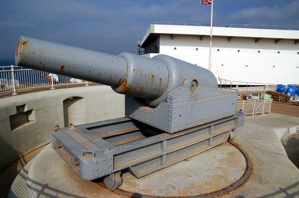 Hardings Battery am südlichsten Punkt von Gibraltar