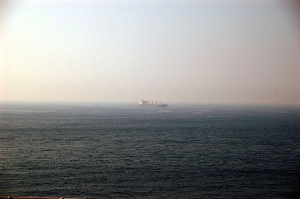Der iranische Tanker Grace-1 liegt festgesetzt im Gewässer vor der Küste von Gibraltar
