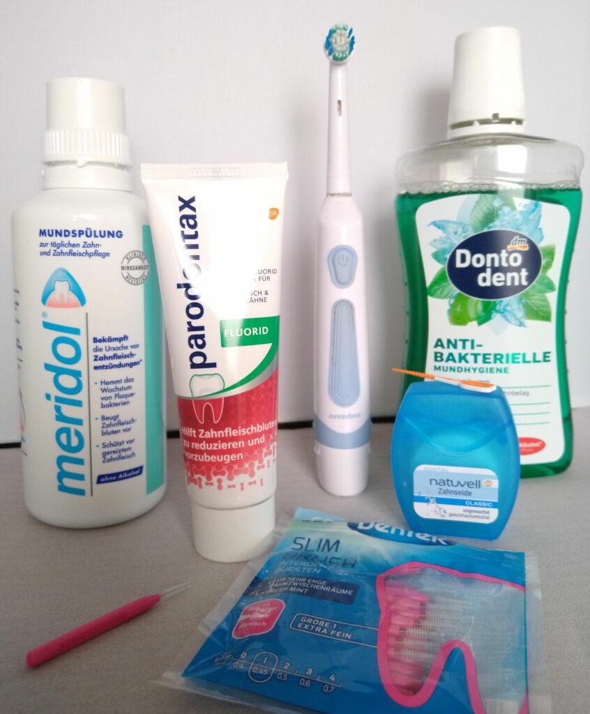 Mittel gegen Zahnfleischbluten